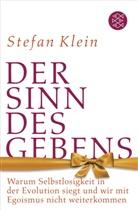 Stefan Klein, Stefan (Dr.) Klein - Der Sinn des Gebens