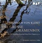 Heinrich von Kleist, Hansjörg Felmy, Will Quadflieg, Horst Tappert, Fritz Wepper - Die große Dramenbox, 9 Audio-CDs (Hörbuch)