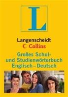 Grosses Schul- und Studienwörterbuch Englisch-Deutsch