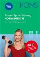 Martin Schmidt - PONS Power-Sprachtraining Norwegisch, m. Audio-CD
