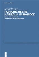 Gerold Necker - Humanistische Kabbala im Barock