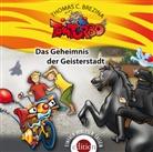 Thomas Brezina, Thomas C. Brezina - Tom Turbo - Das Geheimnis der Geisterstadt, 1 Audio-CD (Hörbuch)