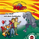 Thomas Brezina, Thomas C. Brezina - Tom Turbo - Der Wolf mit dem Goldzahn, 1 Audio-CD (Hörbuch)