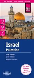 Reise Know-How Verlag Peter Rump, Peter Rump Verlag - World Mapping Project: Reise Know-How Landkarte Israel, Palästina / Israel, Palestine (1:250.000)