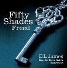E L James, E. L. James, Becca Battoe - Fifty Shades Freed Audio CD (Audio book)