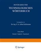 N Hoyer, NA Hoyer, N Kreuter, NA Kreuter, Alfred Schlomann - Technologisches Wörterbuch