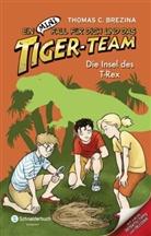 Thomas Brezina, Thomas C Brezina, Thomas C. Brezina - Ein MINI-Fall für dich und das Tiger-Team - Die Insel des T-Rex