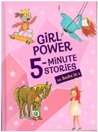 HOUGHTON MIFFLIN HAR, Houghton Mifflin Harcourt - Girl Power 5-Minute Stories