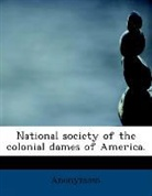 Anonymous - National Society of the Colonial Dames O