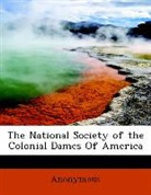 Anonymous - The National Society of the Colonial Dam