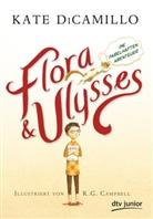 Kate Dicamillo, K. G. Campbell - Flora und Ulysses - Die fabelhaften Abenteuer