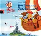 Rüdiger Bertram, Matthias Koeberlin, Jona Mues - Mika der Wikinger - Ausflug zur Dracheninsel, 1 Audio-CD (Hörbuch)