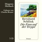 Bernhard Schlink, Charles Brauer - Die Frau auf der Treppe, 5 Audio-CD (Hörbuch)
