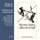 Martin Suter, Stefan Kurt - Alles im Griff, 2 Audio-CDs (Hörbuch)