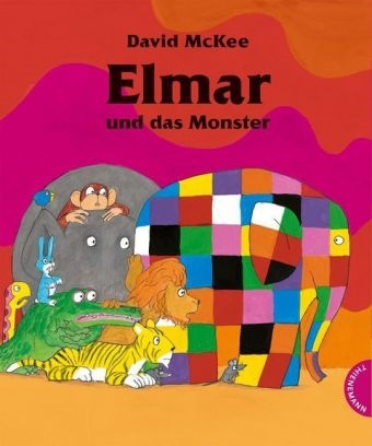 David McKee, David McKee - Elmar und das Monster
