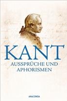 Immanuel Kant, Raou Richter, Raoul Richter - Kant - Aussprüche und Aphorismen
