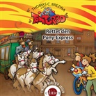 Thomas Brezina, Thomas C. Brezina - Tom Turbo - Rettet den Pony-Express, 1 Audio-CD (Hörbuch)