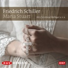 Friedrich Schiller, Friedrich von Schiller, Christiane Hörbiger, Will Quadflieg, Sonja Sutter - Maria Stuart, 2 Audio-CDs (Hörbuch)