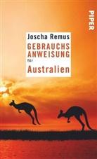Joscha Remus - Gebrauchsanweisung für Australien