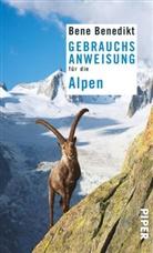 Bene Benedikt - Gebrauchsanweisung für die Alpen