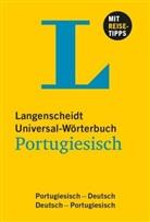 Langenscheidt-Redaktion - Universal-Wörterbuch Portugiesisch: Portugiesisch-Deutsch und vv