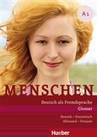 Daniela Niebisch - Menschen - Deutsch als Fremdsprache - A1: Menschen A1 Glossar Deutsch-Franzoesisch/allemand-francais