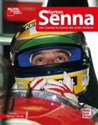 Michael Schmidt, Reinhard Wilhelm, Bern Ostmann - Ayrton Senna