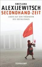 Svetlana Alexijevich, Swetlana Alexijewitsch - Secondhand-Zeit