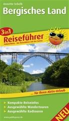 Annette Schelb - PublicPress 3 in 1 Reiseführer: 3in1-Reiseführer Bergisches Land
