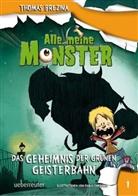 Thomas Brezina, Thomas C. Brezina, Thomas Brezina, Pablo Tambuscio - Alle meine Monster, Das Geheimnis der grünen Geisterbahn