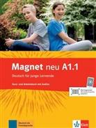 Silvi Dahmen, Ursula u a Esterl, Giorgi Motta - Magnet - Deutsch für junge Lernende, Neubearbeitung - A1.1: Kurs- und Arbeitsbuch, m. Audio-CD