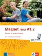 Silvi Dahmen, Ursula u a Esterl, Giorgi Motta - Magnet - Deutsch für junge Lernende, Neubearbeitung - A1.2: Kurs- und Arbeitsbuch, m. Audio-CD