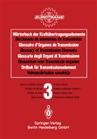 EUROTRAN, EUROTRANS, EUROTRANS - Wörterbuch der Kraftübertragungselemente, Deutsch-Spanisch-Französisch-Englisch-Italienisch-Niederlä - 3: Stufenlos einstellbare Getriebe