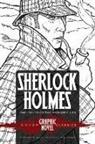 Arthur Conan Doyle, Sir Arthur Conan Doyle, John Green, John Green - Sherlock Holmes the Hound of the Baskervilles Dover Graphic Novel