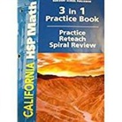 Hsp, Hsp (COR), Harcourt School Publishers - Math, Grade 6 Practice/Reteach Workbook