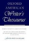 Bryan A. Garner, Rae Armantrout, David Auburn, David/ Armantrout Auburn, David Crystal, David (University of Reading) Crystal... - Oxford American Writer's Thesaurus