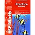 Hsp, Hsp (COR), Harcourt School Publishers - Math, Grade 4 Practice Workbook