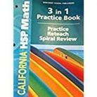Hsp, Hsp (COR), Harcourt School Publishers - Math, Grade 3 Practice/Reteach Workbook