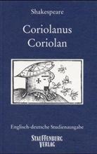 William Shakespeare, Roland Lüthi - Coriolan. Coriolanus