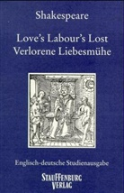 William Shakespeare - Verlorene Liebesmühe. Love's Labour's Lost