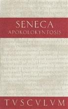 Seneca, Gerhar Binder, Gerhard Binder - Apokolokyntosis. Die Verkürbissung des Kaisers Claudius