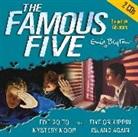 Enid Blyton - Five on Kirrin Island Again and Five Go to Mystery Moor CDs(2) (Hörbuch)