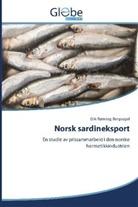 Erik Rønning Bergsagel - Norsk sardineksport