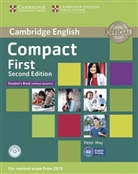 Peter May - Compact First: Student's Book without answers, with CD-ROM