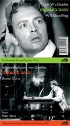 Johann Wolfgang Von Goethe, Ewald Balser, Will Quadflieg, Aglaja Schmid, Wolfgang M. Schwiedrzik - Zweimal Torquato Tasso, 2 Audio-CDs + 1 DVD (Hörbuch)