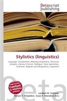 Susan F Marseken, Susan F. Marseken, Lambert M. Surhone, Miria T Timpledon, Miriam T. Timpledon - Stylistics (linguistics)
