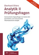 Eberhard Ehlers - Analytik - 2: Prüfungsfragen 2013