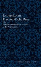 Jacques Lacan - Das Freudsche Ding oder Der Sinn einer Rückkehr zur Freud in der Psychoanalyse