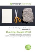 Agne F Vandome, John McBrewster, Frederic P. Miller, Agnes F. Vandome - Dunning Kruger Effect