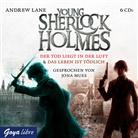 Andrew Lane, Jona Mues - Young Sherlock Holmes - Die Box, 6 Audio-CDs (Hörbuch)